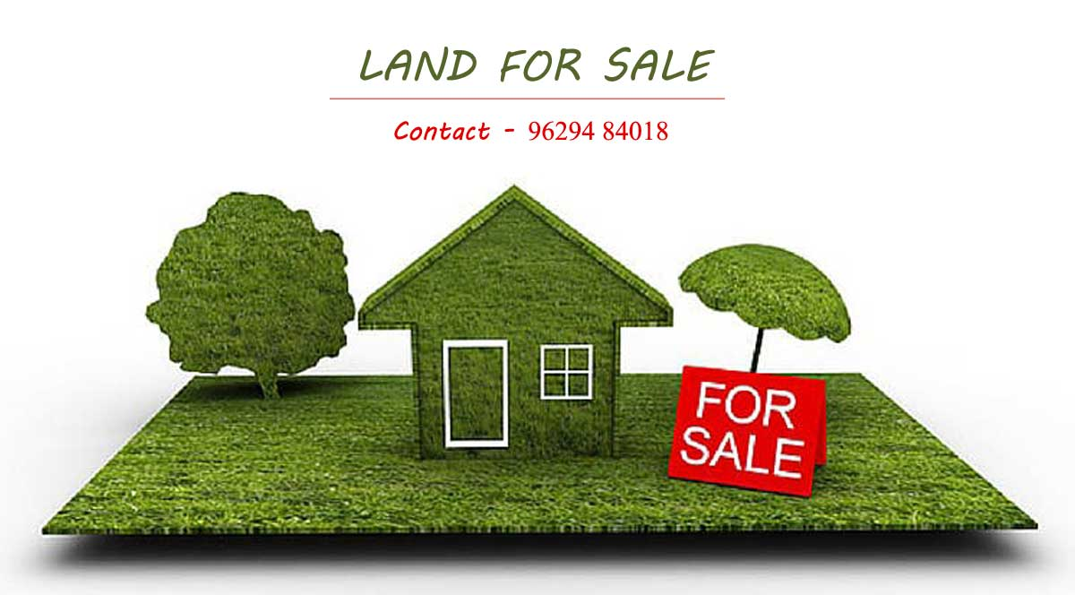 Land for sale in GP colony